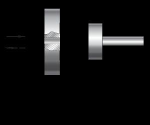 Телескопический гидроцилиндр одностороннего действия