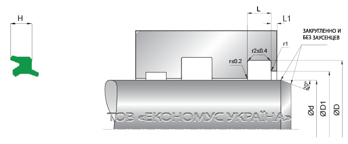 Посадочное место грязесъмника (скребка) A11_A