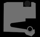 Роторное уплотнение (сальник) R01-F